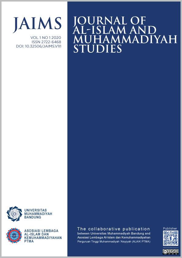 View Vol. 1 No. 1 (2020): Journal of Al-Islam and Muhammadiyah Studies