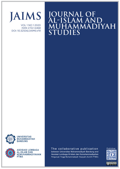 View Vol. 1 No. 2 (2020): Journal of Al-Islam and Muhammadiyah Studies