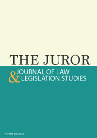 View Vol. 1 No. 1 (2021): THE JUROR: Journal of Law and Legislation Studies